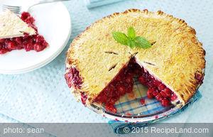 Ohio Sour Cherry Pie