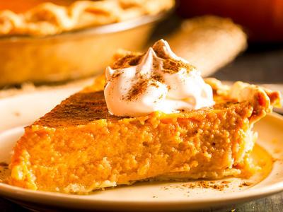 Very Moist Pumpkin Pie
