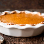 Rude's Cayenne Pumpkin Pie