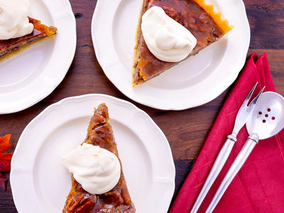 Coffee Liqueur Pecan Pie