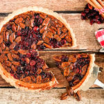 Best Cranberry Pecan Pie