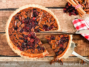 Best Cranberry Pecan Pie