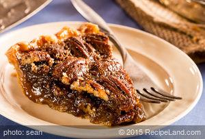 Lauren's Fudge Pecan Pie