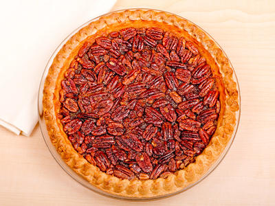 Super Maple Pecan Pie