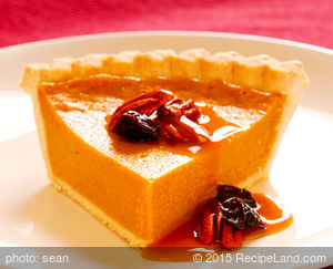 Yummy Fluffy Pumpkin Pie