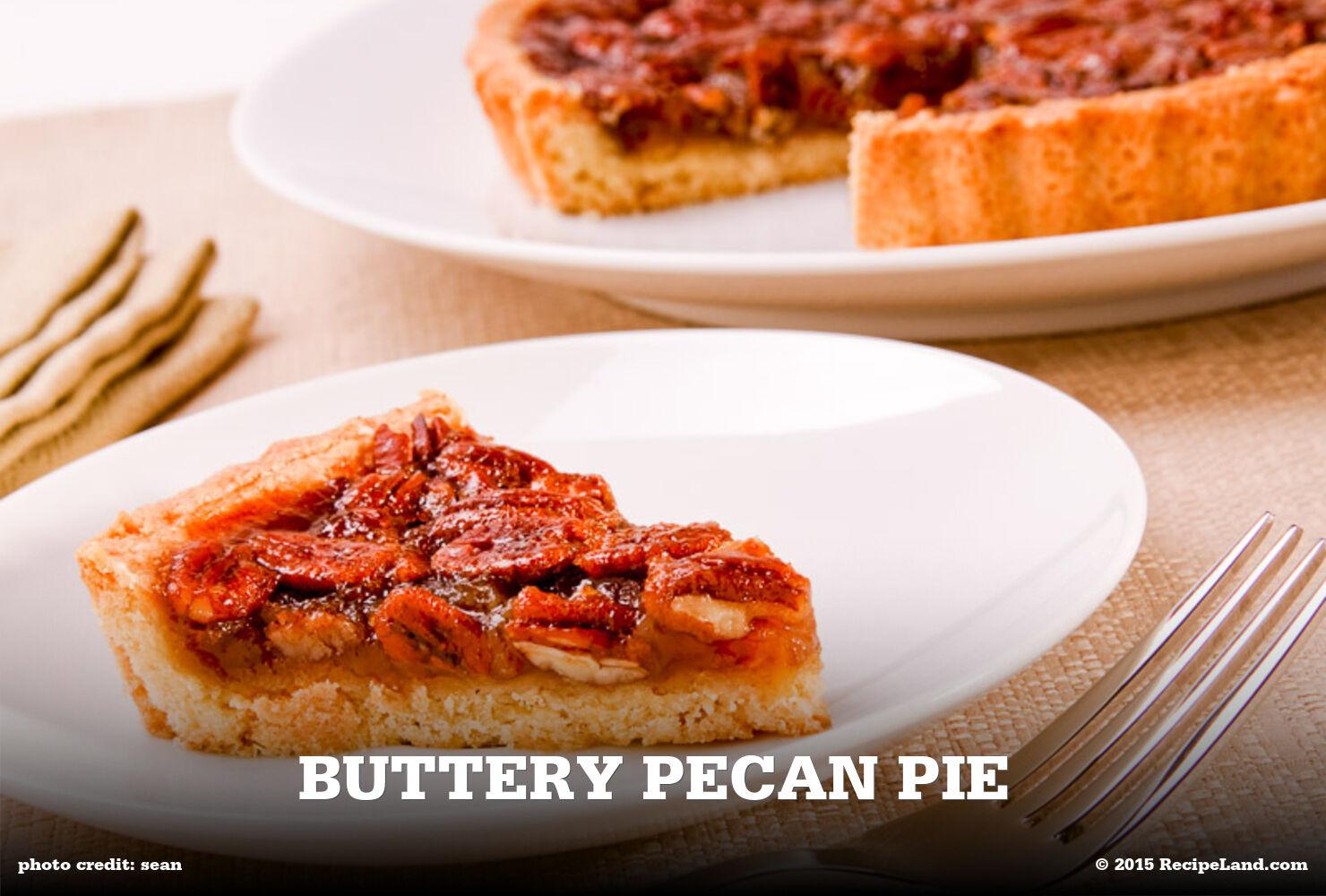 Buttery Pecan Pie