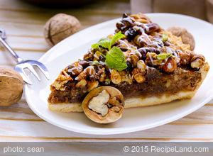 No Fuss Pecan Pie