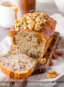 Moist Banana Pecan Bread