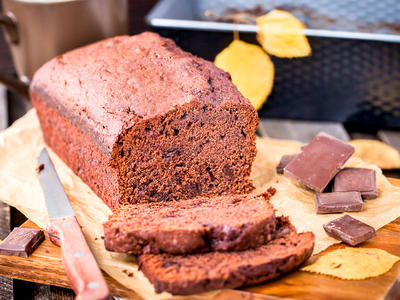 Banana Chocolate Whole Wheat Bread