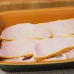 Breakfast casserole layer 2 - back bacon