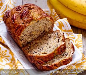 Mom's Banana Wheat Walnut Bread - ABM