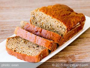 Banana-Oatmeal-Pecan Bread