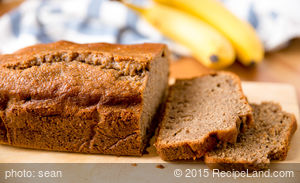 High Fibre Banana-Oat Bread