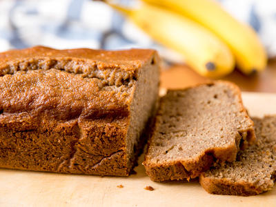 High Fibre Banana-Oat Bread