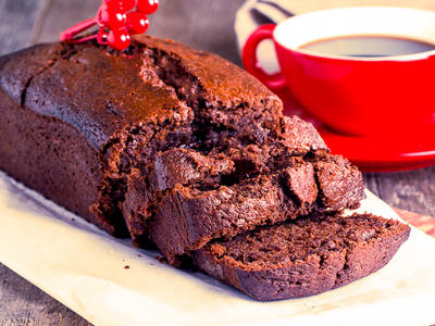 Buttermilk Chocolate Tea Bread