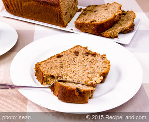 Maple Syrup and Brown Sugar Banana Bread