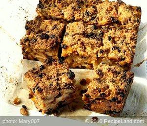 Fruit Peel Bread Pudding