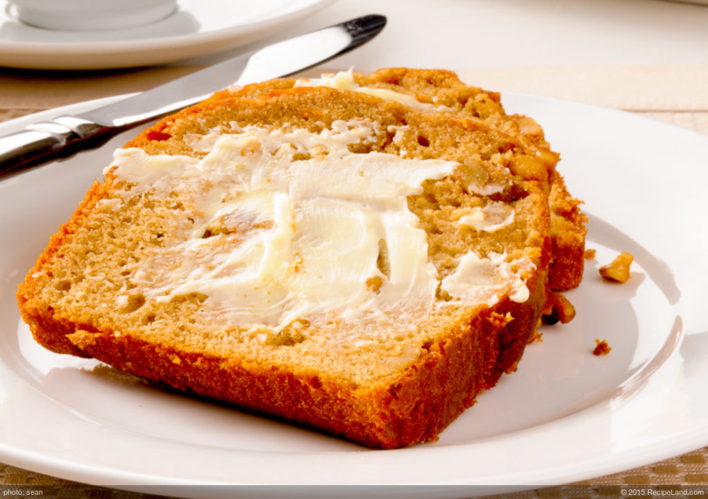 Moist Sour Cream Banana Bread