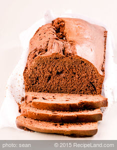 Chocolate Mayo Loaf Cake