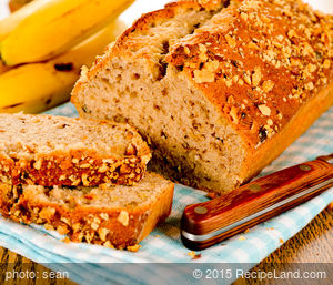 Moist Whole Wheat Banana Bread