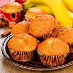 Yummy Banana Oatmeal Muffins