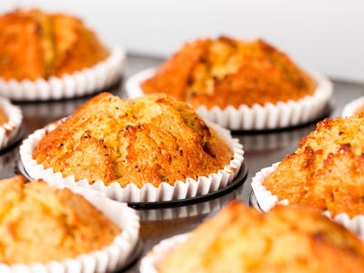 Very P-Nutty Muffins