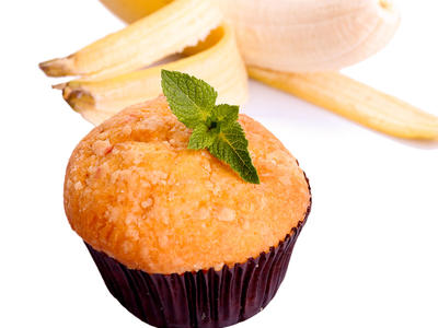 Best Fat-Free Banana Muffins