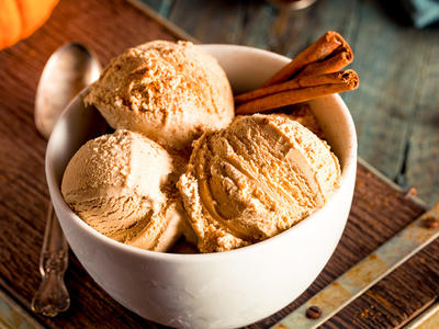 Easy Pumpkin Ice Cream