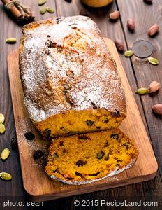 Nutty Moist Pumpkin Bread