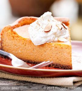 Nathan's Pumpkin Cheesecake