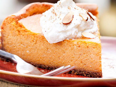 Nathan's Pumpkin Cheesecake