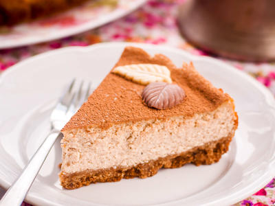 Wake - Up - Smell Coffee Cheesecake