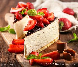 Debbie's White Chocolate Cheesecake