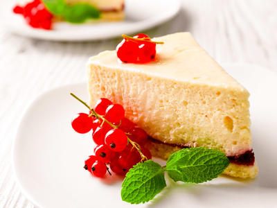 Decadent White Chocolate Cheesecake