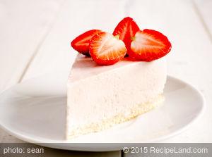 Creme De Cassis Cheesecake