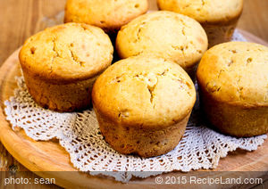 Moist Honey Cornbread Muffins