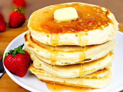 Alaska Sourdough Pancakes