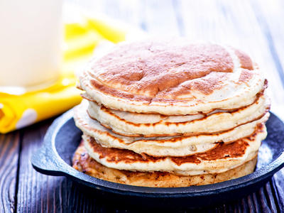 Whole Grain Apple Pancakes (Smith)