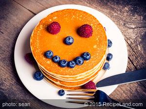Basic Sourdough Pancakes
