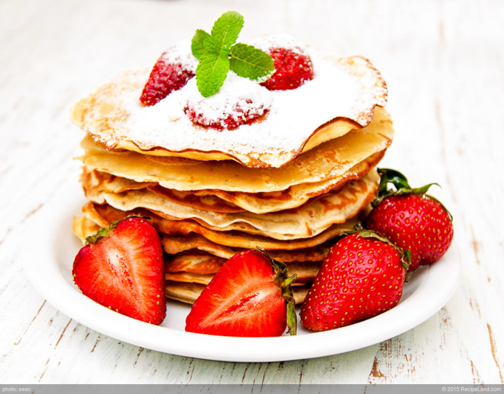Buttermilk Whole Wheat and Wheat Germ Pancakes