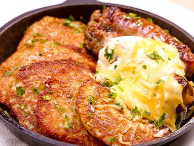 Turkey Potato Pancakes