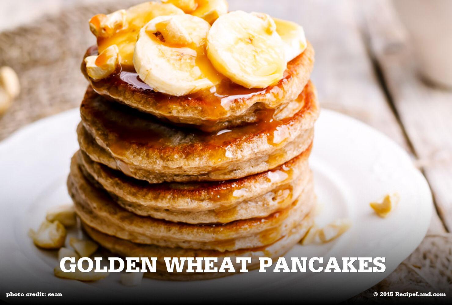 Golden Wheat Pancakes
