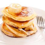 Lemon Verbena Ricotta Pancakes