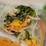 Cafe Kati's Mango Spring Rolls