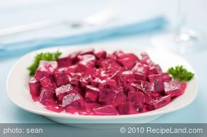 Beets in Sour Cream