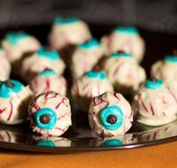 Scary Spooky Halloween Eyeballs