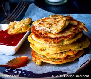 Mung Bean Pancakes - Bindae Duk