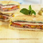 Circular Italian Sandwich