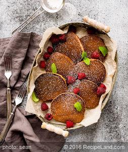 Dairy-Free Whole Wheat Apple Pancakes