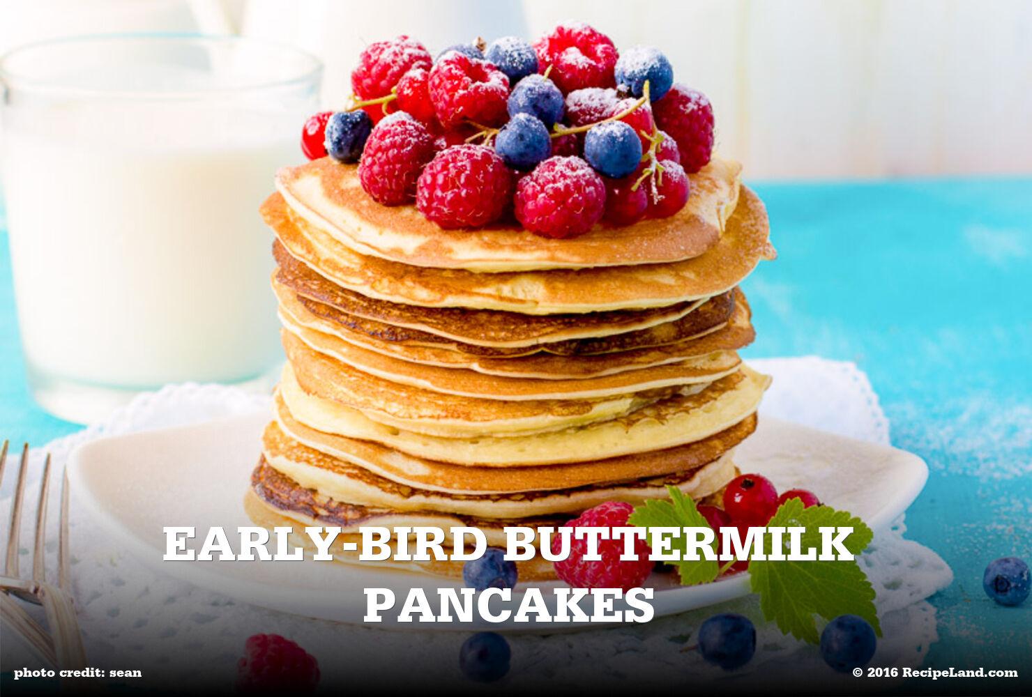 Early-Bird Buttermilk Pancakes